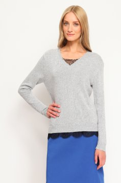 Top Secret S016762 LightGrey Sweater