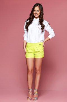 PrettyGirl Summer Feeling Yellow Short