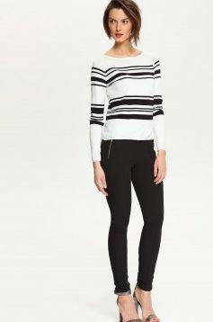 Top Secret S022704 White Sweater
