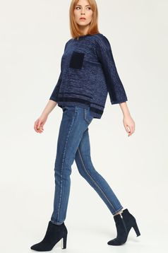 Top Secret S022707 DarkBlue Sweater