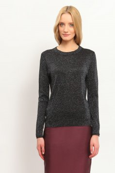 Top Secret SSW1829 Black Sweater
