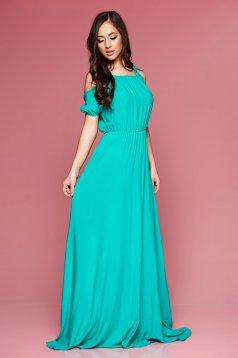 PrettyGirl Maxi Style Green Dress