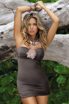 Special Resort Brown Swimsuit