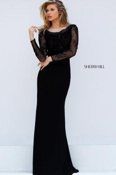 Sherri Hill 50511 Black Dress