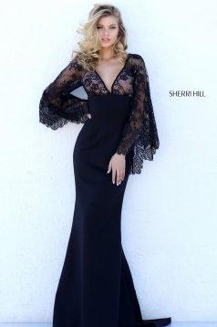 Sherri Hill 50610 Black Dress