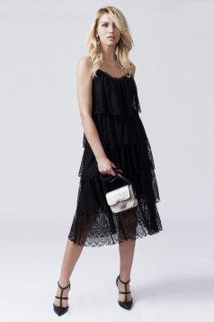 Daniella Cristea Samba Black Dress