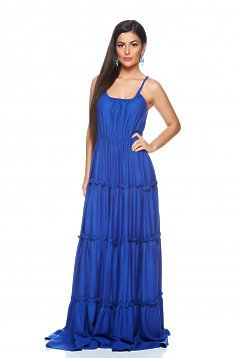 PrettyGirl Beach Waves DarkBlue Dress