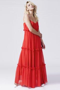 Daniella Cristea Romantic Date Red Dress