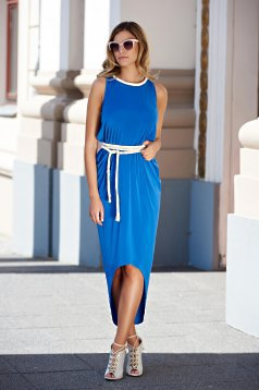 Daniella Cristea Gratitude Blue Dress