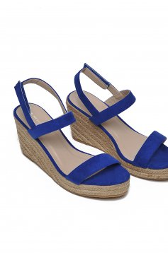 Top Secret S022511 Blue Sandals