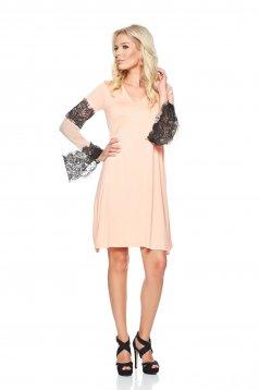 PrettyGirl Rumours Peach Dress