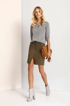Top Secret S023263 Grey Sweater
