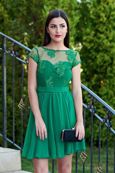 Joyful Event Green Dress