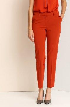 Top Secret S023390 Orange Trousers