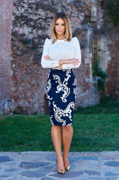 Fofy Alluring Concept DarkBlue Skirt