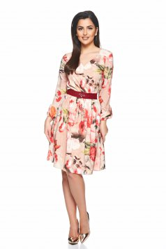 LaDonna Delicate Harmony Cream Dress