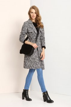 Top Secret S023595 Grey Coat