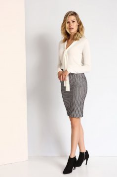 Top Secret S023682 White Skirt
