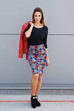 Top Secret S023705 Blue Skirt