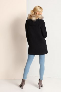 Top Secret S023724 DarkBlue Coat