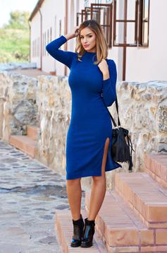 StarShinerS Fall Enthusiasm Blue Dress
