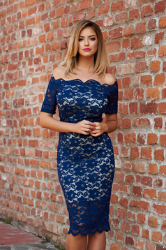 StarShinerS Glamorous Girl DarkBlue Dress