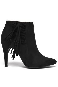 Top Secret S023788 Black Ankle Boots