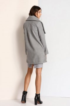 Top Secret S023797 Grey Coat