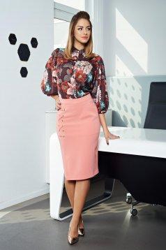 PrettyGirl Powerfull Charm Peach Skirt
