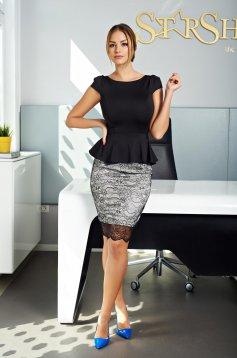 Fofy Classy Beauty Black Dress