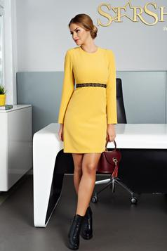 Autumn Feeling Yellow Dress