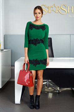 LaDonna Lovely Style Green Dress