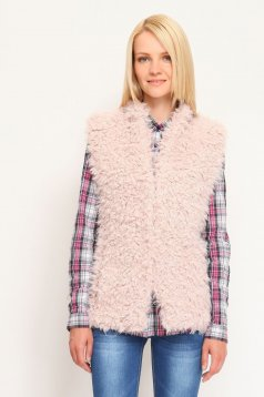 Top Secret S023906 Pink Vest