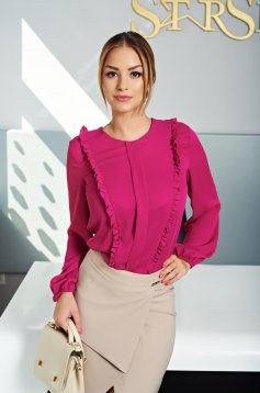 LaDonna Classy Business Pink Blouse