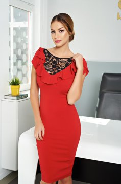 LaDonna Dairy Queen Red Dress