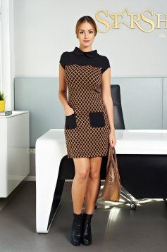 LaDonna Smart Office Black Dress