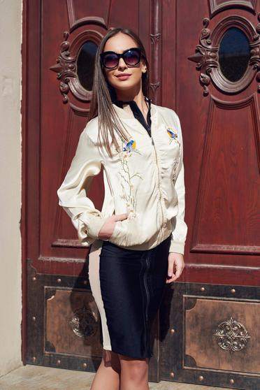 Little Flower Cream Jacket