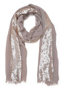 Top Secret S024208 Cream Scarf