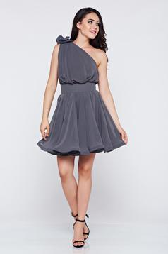 Ana Radu Serenade Grey Dress