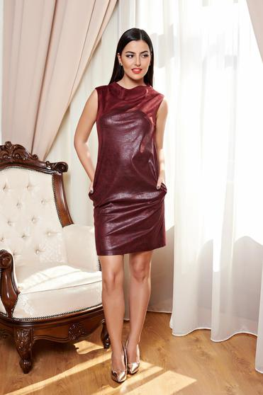 Love Desire Burgundy Dress