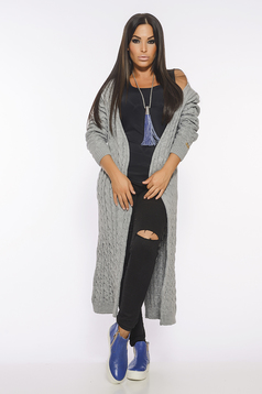 MissQ Fall Filter Grey Cardigan