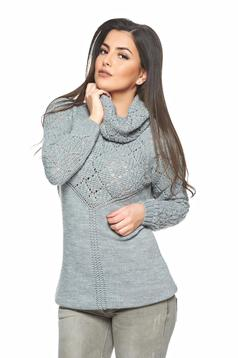 MissQ Mistery Love Grey Sweater