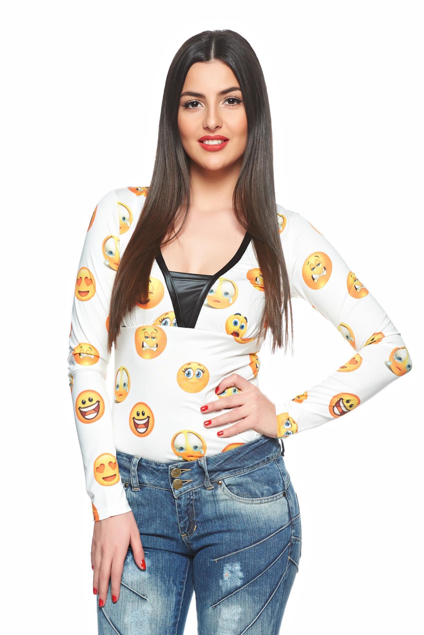 Bluza MissQ Lovely Smile White