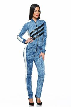Ocassion Babe Look Blue Jumpsuit