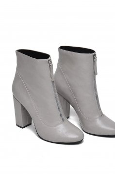 Top Secret S024662 Grey Ankle Boots