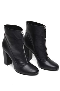 Top Secret S024663 Black Ankle Boots