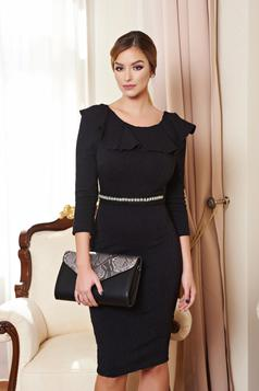 StarShinerS Swan Black Dress