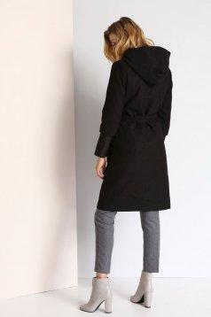 Top Secret S024683 Black Coat