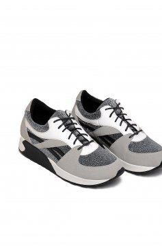 Top Secret S024685 Silver Sneakers