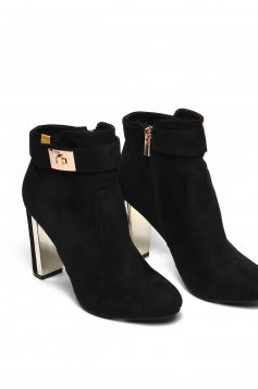 Top Secret S024686 Black Ankle Boots